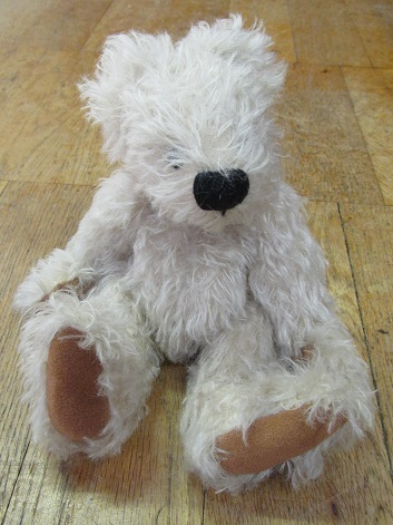 A bear soft toy