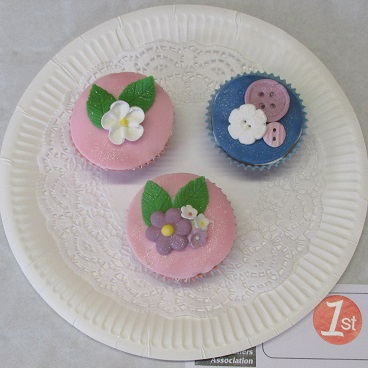 Children's decorated cupcakes