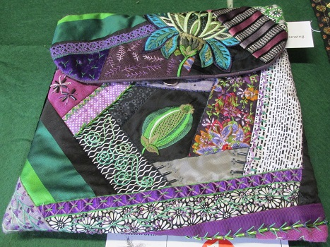 A patchwork bag