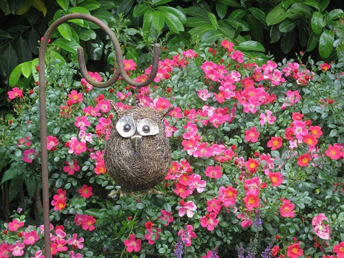 Letchworth Open Gardens – an ornamental owl