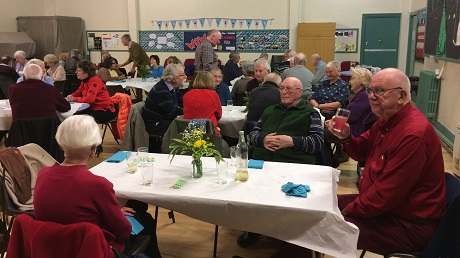 Members enjoying the Social Supper