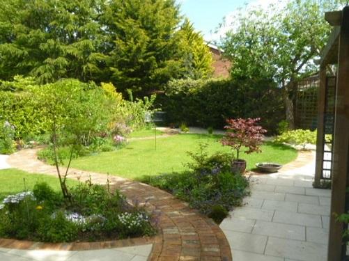 A view of a member's garden